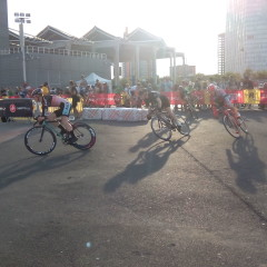 Red Hook Crit Barcelone 2015: Ivan et Kacey. 300 participants. Spectaculaire