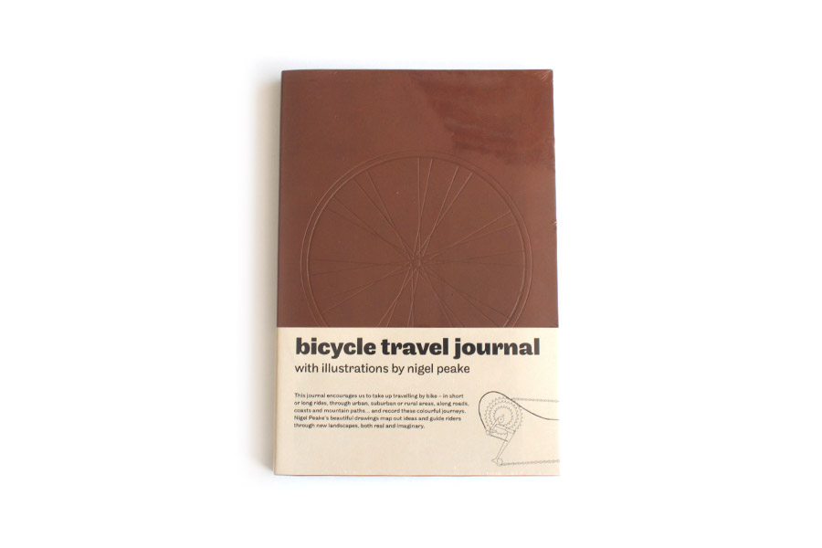 Livre Bicycle Travel Journal