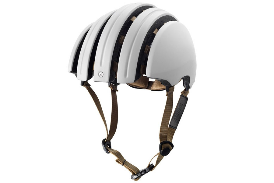 6c2bc85264e Casque pliable Brooks Carrera JB Classic Blanc