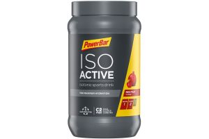 Boisson Isotonique PowerBar IsoActive Red Fruit Punch 600g