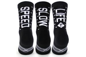 Chaussettes Pacifico Speed/Slow Life V2.0 Noir