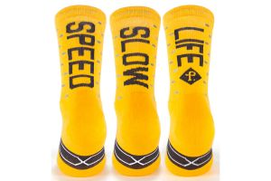 Chaussettes Pacifico Speed/Slow Life V2.0 Jaune