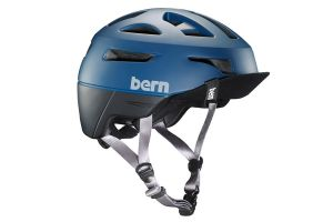 Casque Bern Union Bleu Mate