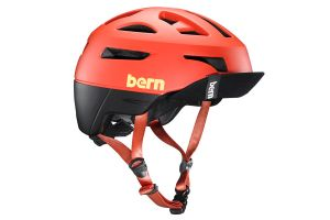 Casque Bern Union Rouge Mate