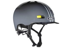 Casque vélo Nutcase Street Suit and Tie Stripe Gloss Reflective