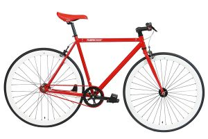 Vélo Fixie FabricBike Red & White