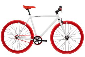 Vélo Fixie FabricBike White & Red