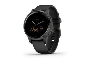 Montre Intelligente Garmin Vivoactive 4S Music Powder Noir/Ardoise
