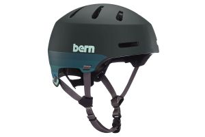 Casque Bern Macon 2.0 Matte Retro Forest Green