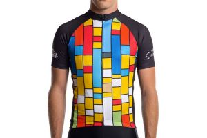 Maillot cycliste State x The Simpsons - Color Block