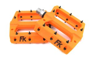 Pédales Plateforme FK Nylon Orange