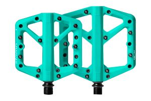 Pédales Crank Brothers Stamp 1 turquoise