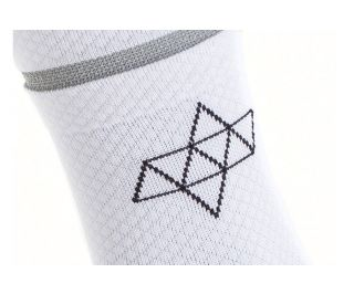 Chaussettes Acht Supply Reflective Blanc