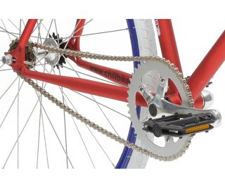 Vélo Fixie Chill Bike Base Red Blue