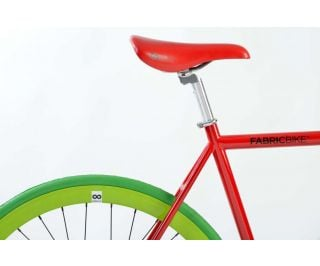 Vélo Fixie Fabric Red & Green