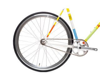 Vélo Fixie State X The Simpsons - Color Block
