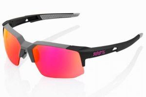 Lunettes 100% Speedcoupe Soft Tact - Graphite/Lilas