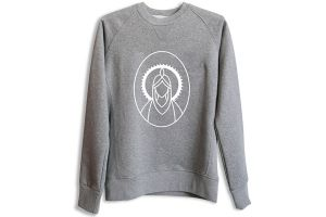Sweat Santafixie x Nvayrk Big Logo - Gris