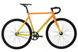 Vélo Fixie Santafixie Raval Yellow Sunset
